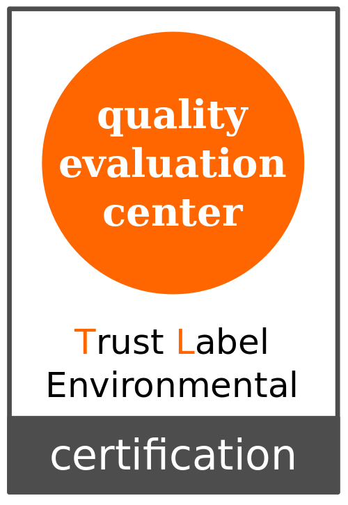 Empresa certificada - Trust Label Environmental