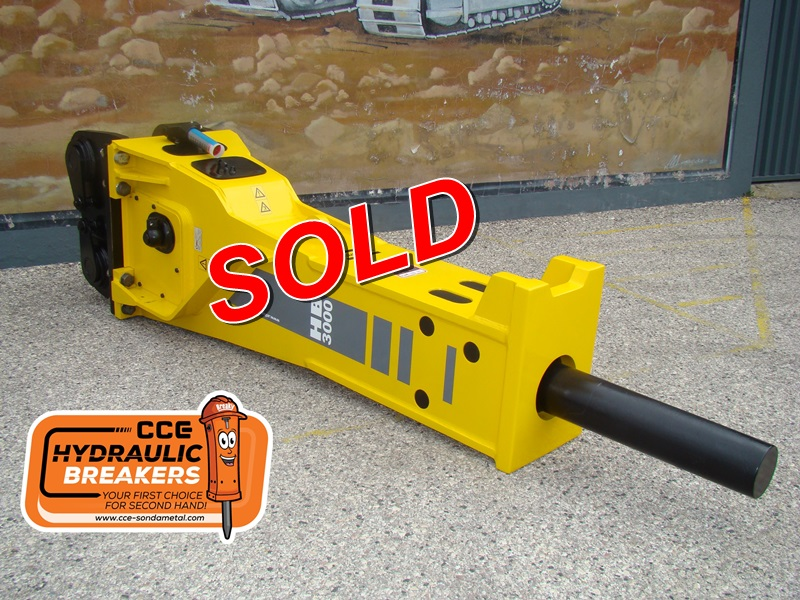 ATLAS COPCO HB 3000 Reconditioned